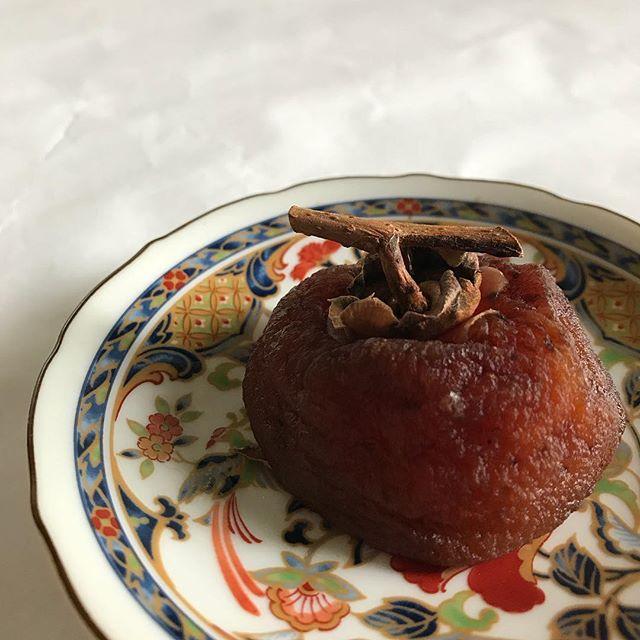 冷凍しておいた干し柿 大好物です!