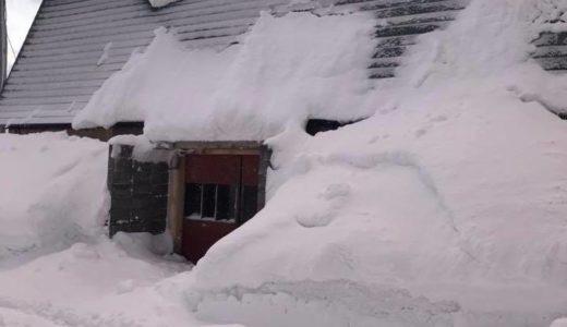 今年は近年にない大雪です