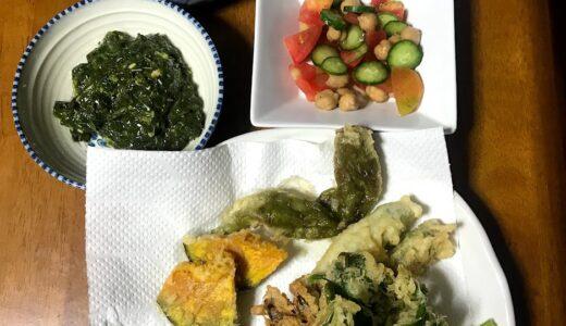 今日たべたもの 鶏肉と里芋の煮物